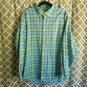 Vineyard Vines Plaid Flannel Murray Shirt Sz XL